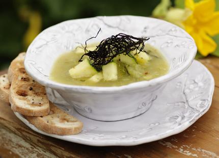 mättande kalorisnål soppa