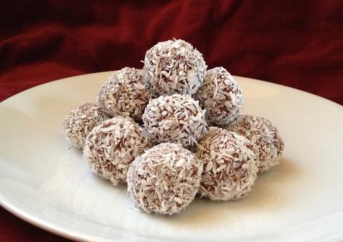 chokladboll kalorier
