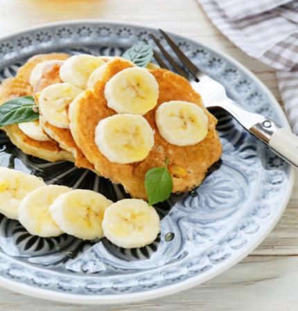 Enkel nyttig bananpannkaka
