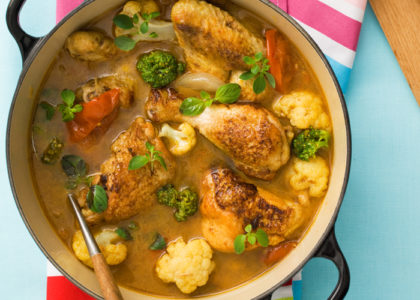 nyttig gryta med kyckling