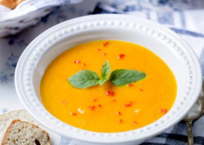 Morotssoppa med ingefara