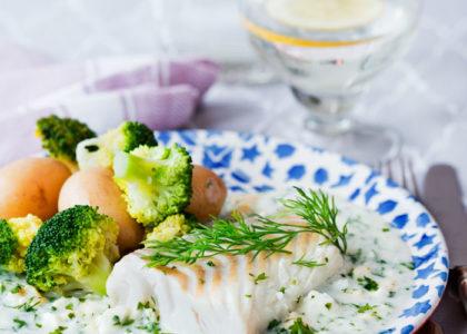 nyttig torsk recept