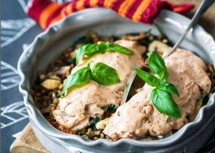 Kycklinggratang Med Mathavre Mabra Nyttiga Recept