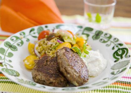 nyttiga köttfärsbiffar recept