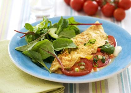 kalorier i omelett 2 ägg