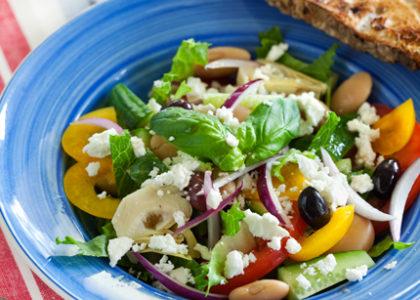 grekisk sallad kalorier
