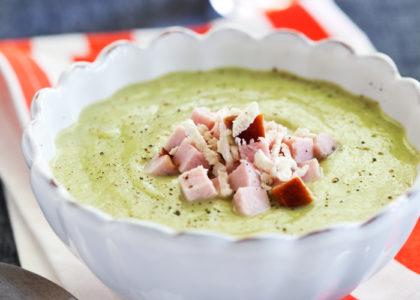 broccolisoppa utan potatis